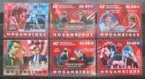 Poštovní známky Mosambik 2012 Světoví šachisti Mi# 6188-93 Kat 14€