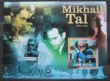 Poštovní známka Guinea-Bissau 2011 Michail Tal, šachy Mi# Block 912 Kat 13€