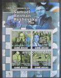 Poštovní známky Guinea-Bissau 2011 Samuel Reshevsky, šachy Mi# 5288-91 Kat 14€