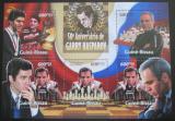 Poštovní známky Guinea Bissau 2013 Garri Kasparov, šachy Mi# 6706-10 Kat 12€