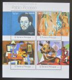 Poštovní známky Svatý Tomáš 2013 Umění, Pablo Picasso Mi# 5026-29 Kat 10€