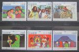 Poštovní známky Ekvádor 1967 Vánoce TOP SET Mi# 1392-97 Kat 17€