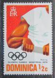 Poštovní známka Dominika 1976 LOH Montreal, veslování Mi# 488