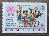 Poštovní známka Dominika 1973 WHO, 25. výročí Mi# 361