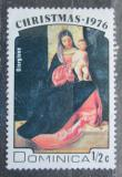 Poštovní známka Dominika 1976 Vánoce, umění, Giorgione Mi# 505
