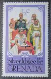 Poštovní známka Grenada 1977 Královská rodina Mi# 822
