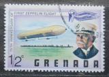 Poštovní známka Grenada 1978 Vzducholoď LZ1 a Ferdinand Zeppelin Mi# 872
