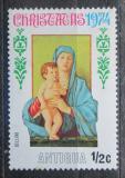 Poštovní známka Antigua 1974 Vánoce, umění, Bellini Mi# 346