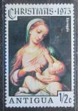 Poštovní známka Antigua 1975 Vánoce, umění, Correggio Mi# 388