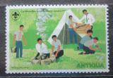 Poštovní známka Antigua 1977 Skauti Mi# 459