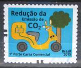 Poštovní známka Brazílie 2015 Boj proti CO2 Mi# 4245