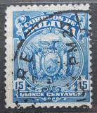 Poštovní známka Bolívie 1925 Státní znak Mi# 138