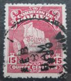 Poštovní známka Bolívie 1928 Mapa země Mi# 180