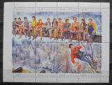 Poštovní známky Abcházie, Rusko 1993 Nejslavnější foto světa Mi# N/N