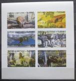Poštovní známky Batum, Rusko 1998 Dinosauři neperf. Mi# N/N