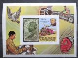 Poštovní známka Pobřeží Slonoviny 1979 Doprava neperf. Mi# Block 14 B Kat 16€