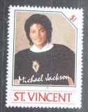 Poštovní známka Svatý Vincenc 1985 Michael Jackson Mi# 893