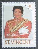 Poštovní známka Svatý Vincenc 1985 Michael Jackson Mi# 897 Kat 3€