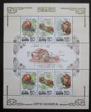 Poštovní známky KLDR 1997 Asijští šneci Mi# 3983-85 Bogen