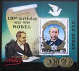 Poštovní známka KLDR 1984 Alfred Nobel Mi# Block 180