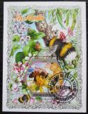 Poštovní známka Pobřeží Slonoviny 2018 Včely Mi# N/N