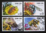 Poštovní známky Sierra Leone 2015 Včely Mi# 6327-30 Kat 10€