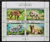 Poštovní známky Niger 2015 Hyeny Mi# 3827-30 Kat 12€