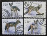 Poštovní známky Togo 2013 Šakal pruhovaný Mi# 4876-79 Kat 12€