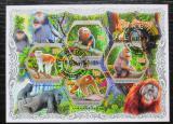 Poštovní známky Pobřeží Slonoviny 2018 Opice Mi# N/N
