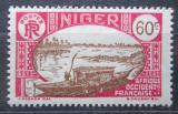 Poštovní známka Niger 1939 Loď na Nigeru Mi# 63