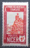 Poštovní známka Niger 1938 Pevnost Zinder Mi# 67