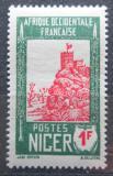 Poštovní známka Niger 1940 Pevnost Zinder Mi# 68