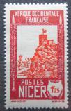 Poštovní známka Niger 1939 Pevnost Zinder Mi# 70