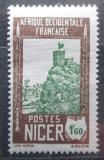Poštovní známka Niger 1939 Pevnost Zinder Mi# 72