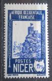 Poštovní známka Niger 1938 Pevnost Zinder Mi# 74