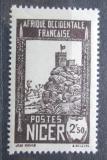 Poštovní známka Niger 1939 Pevnost Zinder Mi# 76