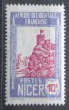 Poštovní známka Niger 1926 Pevnost Zinder Mi# 52