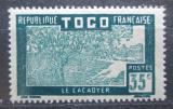Poštovní známka Togo 1938 Pěstování kakaa Mi# 86