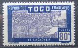Poštovní známka Togo 1938 Pěstování kakaa Mi# 89