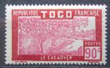Poštovní známka Togo 1927 Pěstování kakaa Mi# 90