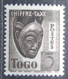 Poštovní známka Togo 1942 Maska, doplatní Mi# 32