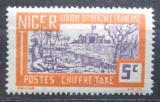 Poštovní známka Niger 1927 Pevnost Zinder, doplatní Mi# 11