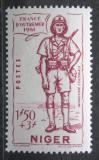 Poštovní známka Niger 1941 Koloniální voják Mi# 100
