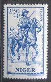 Poštovní známka Niger 1941 Koloniální voják na koni Mi# 102