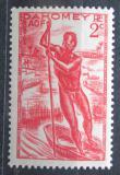 Poštovní známka Dahomey 1941 Domorodec na loďce Mi# 125