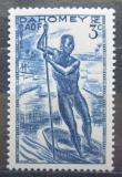 Poštovní známka Dahomey 1941 Domorodec na loďce Mi# 126