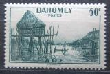 Poštovní známka Dahomey 1941 Tradiční vesnice Mi# 133
