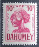Poštovní známka Dahomey 1941 Hlava sochy, doplatní Mi# 20