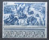Poštovní známka Francouzská Rovníková Afrika 1946 Z Čadu k Rýnu Mi# 258
