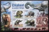 Poštovní známky Burundi 2011 Sloni Mi# Block 158